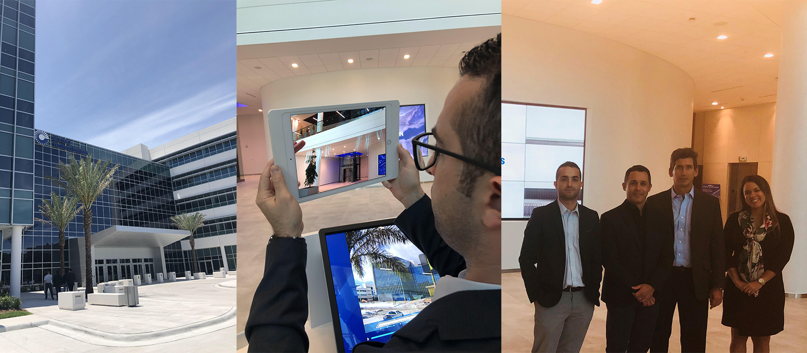 Last week we had the opportunity to visit the UTC Center for Intelligent Buildings